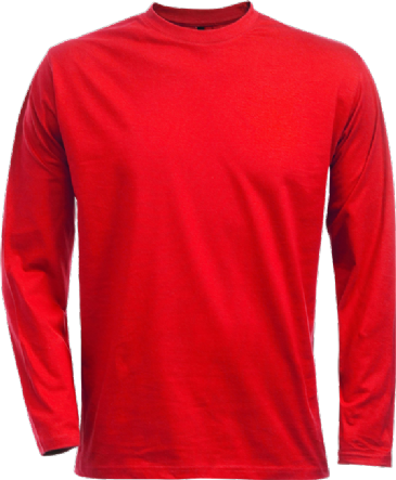 Fristads Acode Long Sleeve Core T-Shirt 1914 HSJ (Red)